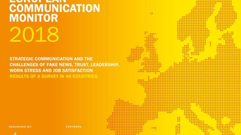 Comunicatori in Europa, ecco i risultati del sondaggio European Communication Monitor 2018