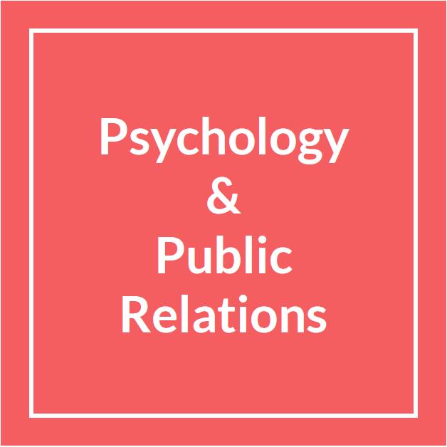 La psicologia e le relazioni pubbliche, una nuova laurea