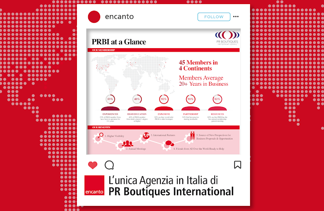 The only Agency in Italy of PR Boutiques International