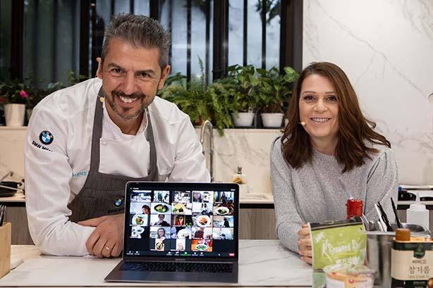 Cucinare online con uno chef stellato. Il successo di un virtual showcooking