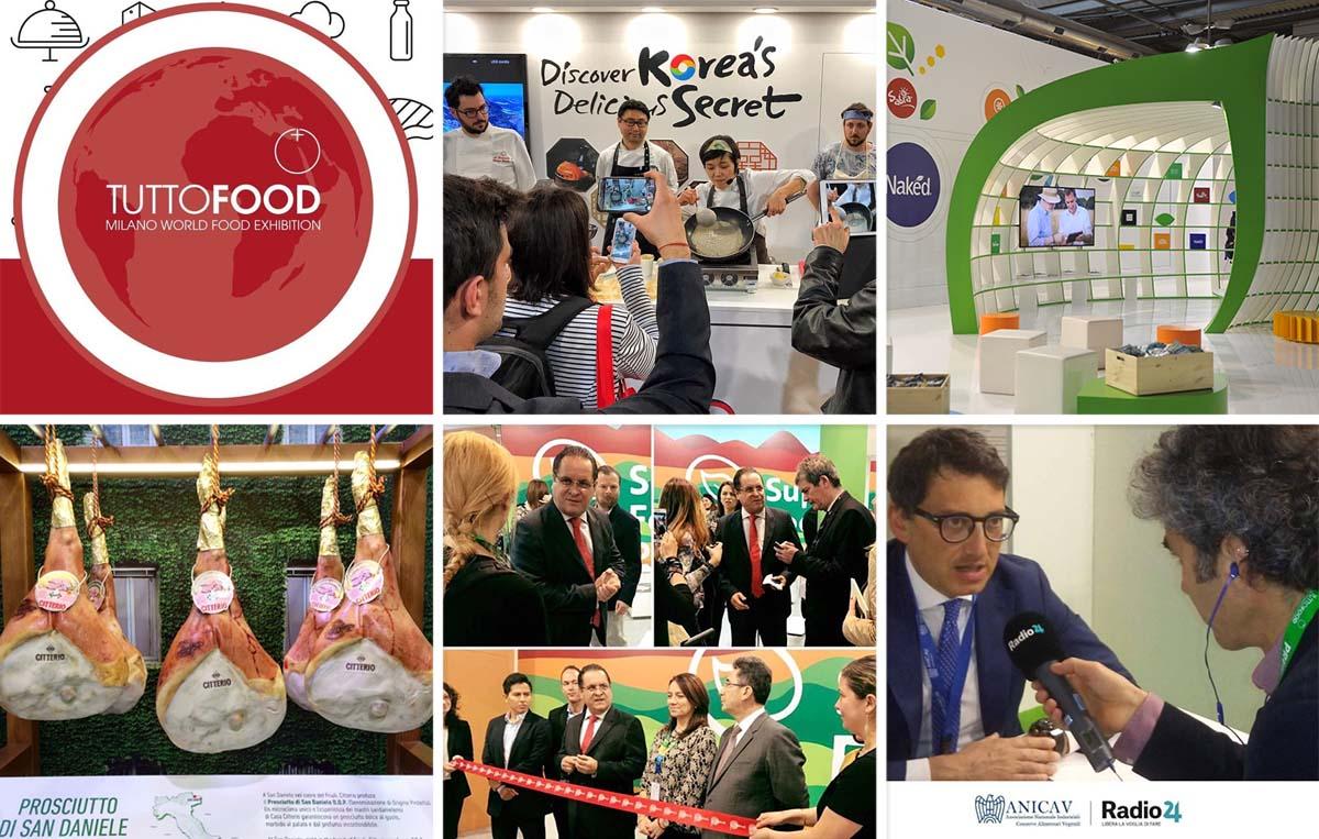 Come è andata a TuttoFood  2017 con 5 dei nostri prestigiosi clienti, grazie anche a Obama e i ricordi di Expo