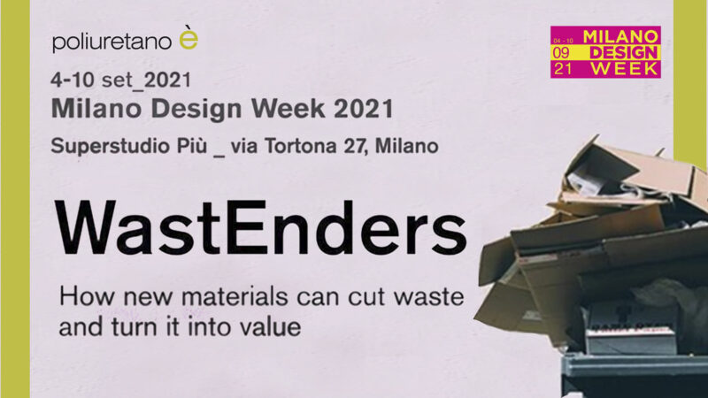 Welcome back to the Milan Design Week! We're  at Superstudio with WastEnders